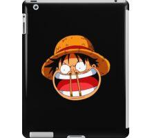 Luffy sticks! iPad Case/Skin