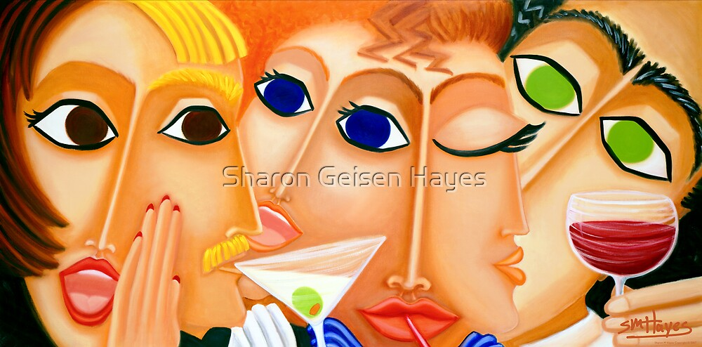 The Crowded Room by Sharon Geisen Hayes