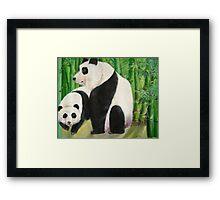 pandas 1 Framed Print