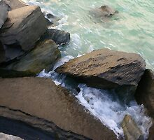 Rocky Seas by AJRosera
