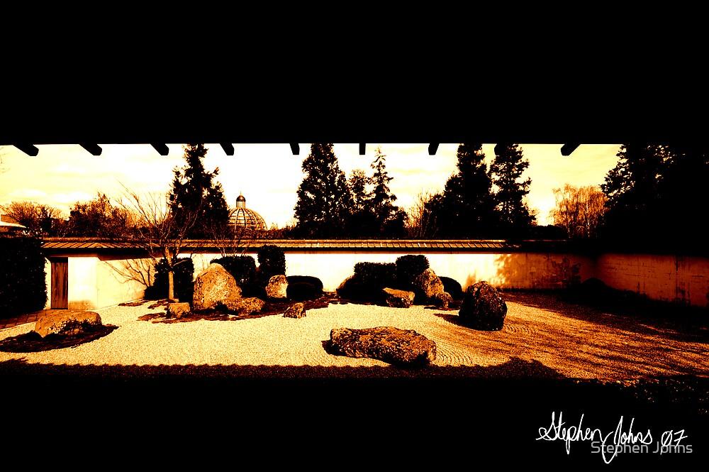 Japanese Garden  by Stephen Johns