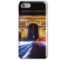 Joyeux Noël : Champs-Élysées iPhone Case/Skin
