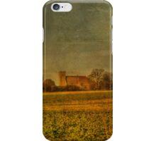 St Mary Hoo Across The Fields iPhone Case/Skin