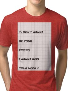 // fallingforyou - the 1975 // Tri-blend T-Shirt