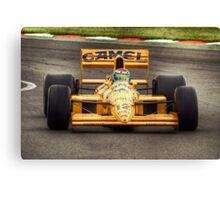 Lotus F1 - Type 101T - 1989 HDR Canvas Print
