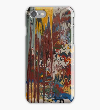 Untitled Painting #61 iPhone Case/Skin