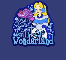 Winter Wonderland Womens Fitted T-Shirt