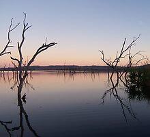 Ord River Sunset by Simon Atherton