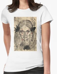 'Glitch 11' Womens Fitted T-Shirt