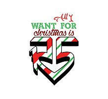 All I Want For Christmas is R5 Photographic Print