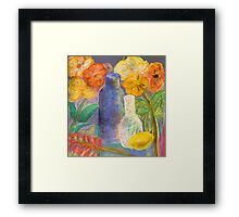 community still life Framed Print