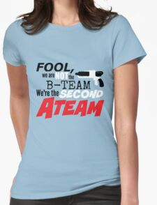 Second A Team Womens Fitted T-Shirt