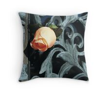 Swirled Flower 2 Throw Pillow