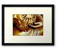 Buddha Hand 2 Framed Print