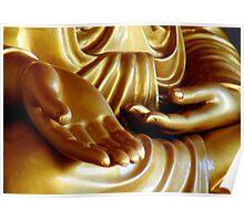 Buddha Hand 2 Poster