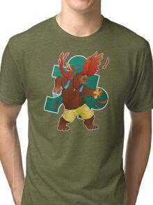 A Bear and Bird Tri-blend T-Shirt