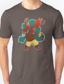 A Bear and Bird Unisex T-Shirt