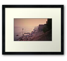 The Holy Shore - Varanasi, India Framed Print