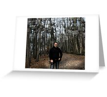 Belgium Forest Greeting Card