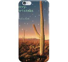 Christmas in the Desert iPhone Case/Skin