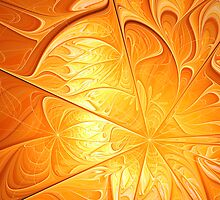 Gilded Flames by John Edwards