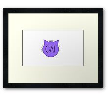 Everybody Wants to Be a Cat Framed Print