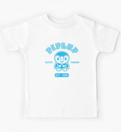 Piplup - College Style Kids Tee