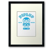 Piplup - College Style Framed Print