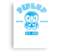 Piplup - College Style Metal Print