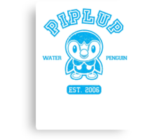 Piplup - College Style Canvas Print