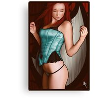 Mary Jane Watson Canvas Print
