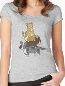 Short Stack  Women's Fitted Scoop T-Shirt