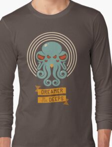 Cthulhu, Dreamer in the Deeps Long Sleeve T-Shirt