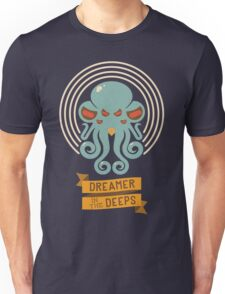 Cthulhu, Dreamer in the Deeps Unisex T-Shirt
