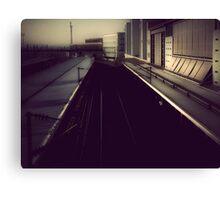 { train station } Canvas Print