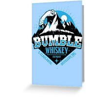 S. Claus Distillery - Bumble Whiskey Greeting Card