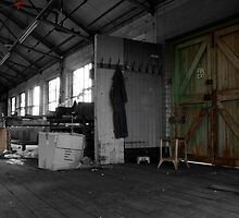 Disused Factory in Northern Ireland by Darren Carey