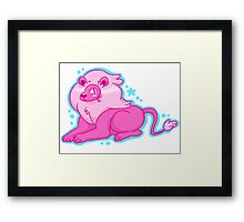 Lion! Framed Print
