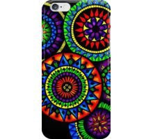 Mandala Circles in Colour iPhone Case/Skin
