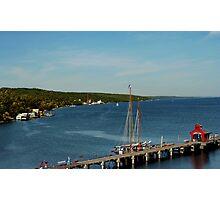 Secena Harbor, Seneca Lake, NY Photographic Print