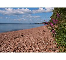 North Shore Beach Photographic Print