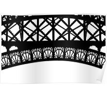 Iron Work, Eiffel Tower Poster