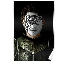 Robb Stark House War Paint Poster