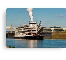 Delta Queen Last Voyage Canvas Print