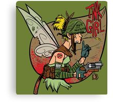 Tink Girl Canvas Print