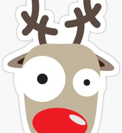 Rudolph Surprise Sticker