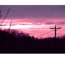 December Sunrise Photographic Print