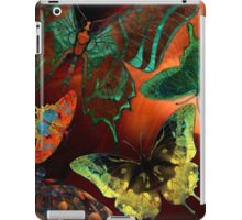 Butterfly Fantasy, Colorful hand Drawn Butterflies Hand drawn high resolution butterfly images.  iPad Case/Skin
