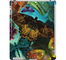 Butterfly Fantasy, Colorful hand Drawn Butterflies  iPad Case/Skin