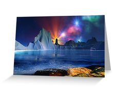 Beyond Earth-for drjmarks Greeting Card